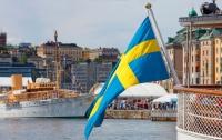Новобранцев шведской армии учат отражать наступление России