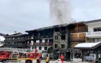 Пожар на курорте Куршевель: число пострадавших возросло (видео)