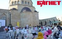 Киевские мусульмане отпраздновали вознесение пророка Мухаммеда на небо (ФОТО)