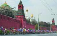 Украинский велосипедист оказался лучшим на велогонке в Москве