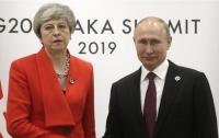 Премьер Британии жестко поговорила с Путиным