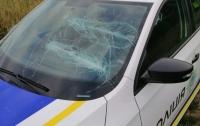 Полицейским сильно досталось от неадекватной парочки бывших супругов (фото)