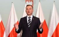 Дуда: Польско-украинские отношения надо строить на исторической правде