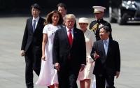Новый император Японии принял Трампа