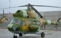 В России упал вертолет, пилот чудом выжил