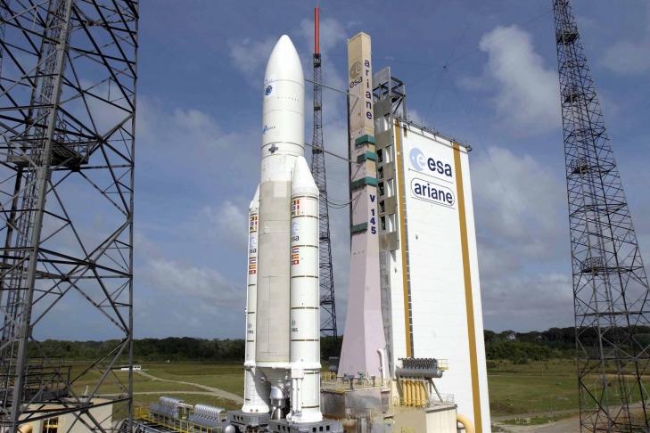 Ракеты Ariane 6 запустят 4 спутника для навигационной системы Galileo