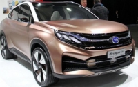 Китайцы показали в Детройте машину с деревцем в салоне
