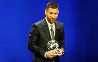Месси стал лучшим нападающим Лиги чемпионов
