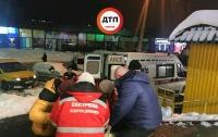 Киевлянин получил тяжелые переломы в супермаркете