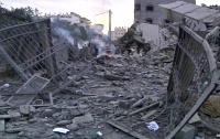 Израильская бомбардировка Газы достигла целы
