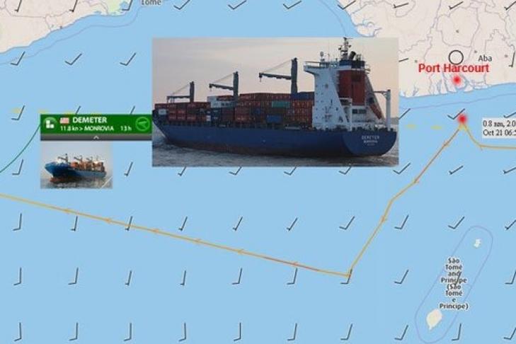 Уберегов Нигерии пираты похитили шесть членов экипажа германского судна