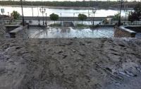 Киев потопает в грязи (фото)