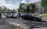 В центре Николаева водитель Opel сбил ребенка