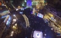 Киевляне встретили Новый год без чрезвычайных происшествий, - КГГА