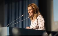 Елена Зеленская пообещала заняться здоровьем и питанием украинских детей