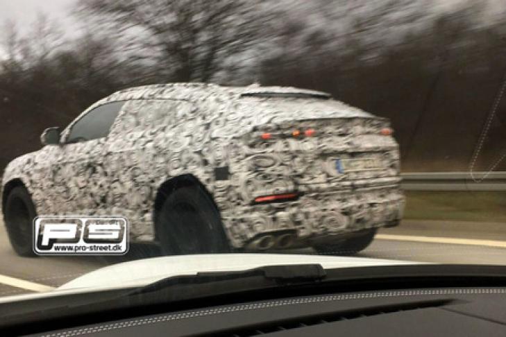 Серийный Lamborghini Urus показался нафото