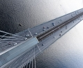 Самый высокий мост Киева перекрыли