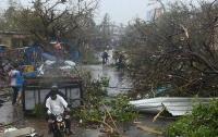 В Индии разрушительный ураган