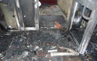 На Волыни горел зал с игровыми автоматами и клиентами