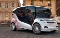 Первый украинский электромобиль представлен в Монако