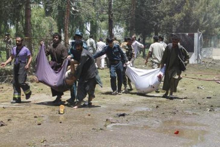 ВАфганистане погибли не менее покрайней мере 16 человек при авиаударе НАТО