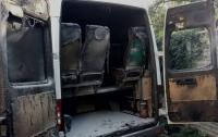 В Запорожье на платной стоянке неизвестные подожгли автомобиль