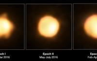 Астрономы получили снимок крупнейшего известного желтого супергиганта