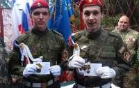 Оккупанты учат детей воевать против НАТО