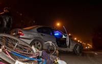 Жуткое ДТП в Днепре: BMW сбил велосипедиста