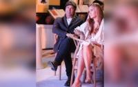 Брэд Питт засветился на публике с новой девушкой