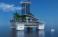 Австралийцы создали проект частного плавучего острова (фото)