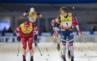 Оглянулся назад и проиграл: норвежский лыжник упустил победу на финише (видео)
