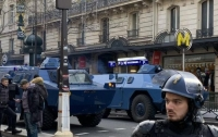 Протесты в Париже: выросло количество задержанных