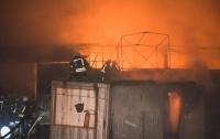 В Киеве сгорели огромные склады