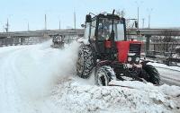 От снега и льда Киев будут очищать уксусной кислотой