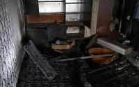 На Николаевщине пожарные спасли четырех человек из горящей квартиры