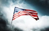 Трое активистов сожгли флаг США возле Белого дома