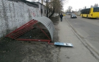 В Киеве обрушилась остановка транспорта