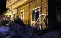 В Чернигове взорвался дом, один человек травмирован