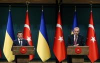 Эрдоган поставил в затруднительное положение переводчика во время брифинга с Зеленским (видео)