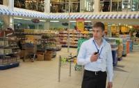 Одесские охранники бьют покупателей в супермаркете за невыполнение их капризов