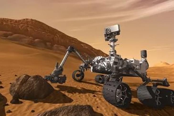 NASA обнаружило свидетельства наличия воды наМарсе