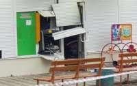Неизвестные взорвали банкомат в Запорожье