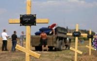 В зоне АТО нашли кладбище террористов - в поле
