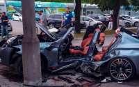 Жесткое ДТП в Днепре: BMW