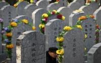 Китаец из любопытства организовал себе похороны при жизни (видео)