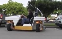 Інженери NASA показали прототип автомобіля без механічної зв`язки керма з колесами (ВІДЕО)