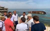 В Одессе ввели режим ЧС из-за танкера