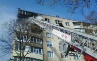 Пожар в Харькове: горела многоэтажка