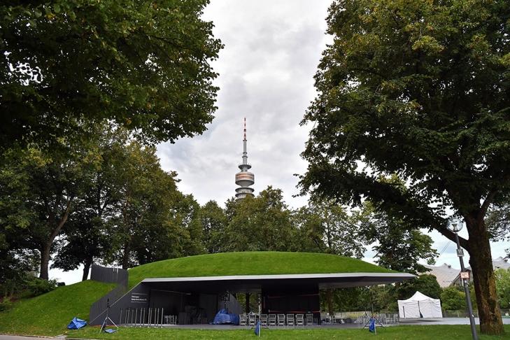 ВМюнхене открыли памятник погибшим при теракте наОлимпиаде